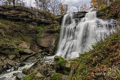 James Dean Photograph - Brandywine Falls by James Dean