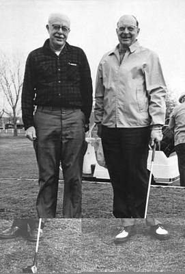 Brattain And Bardeen, Us Physicists Print by Science Photo Library