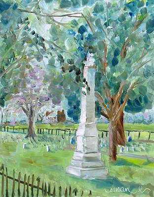 Carnton Plantation Painting - Brave And Noble by Susan E Jones