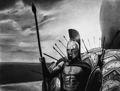 Brave Loyal Defender Print by Vishvesh Tadsare