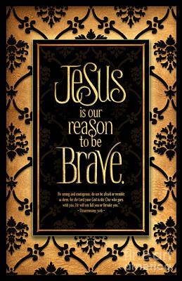 Brave Print by Shevon Johnson