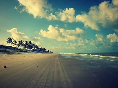 Brazil Beach Tranquil Print by Patricia Awapara