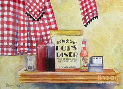 Breakfast At Dot's Original by Donlyn Arbuthnot
