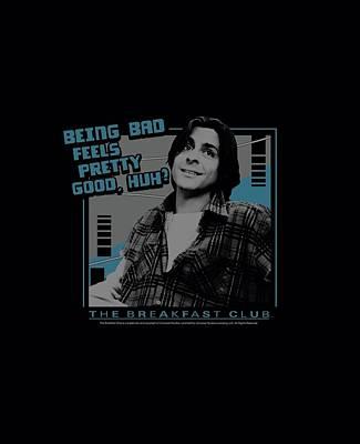 Brat Digital Art - Breakfast Club - Bad by Brand A