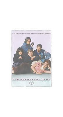 Brat Digital Art - Breakfast Club - Bc Poster by Brand A