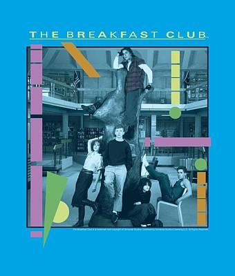 Brat Digital Art - Breakfast Club - Tree by Brand A
