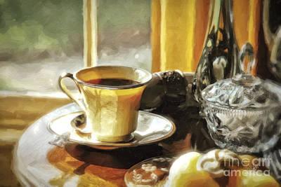 Pear Digital Art - Breakfast Is Ready by Lois Bryan