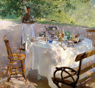 Meal Painting - Breakfast Time by Mountain Dreams