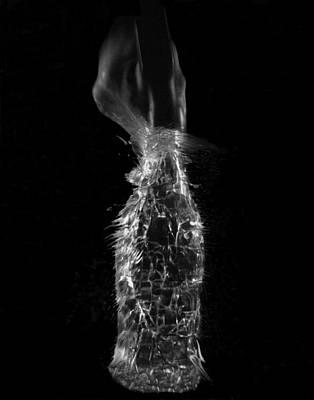 Breaking Glass Original by Alfredo Martinez