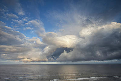 Ocean View Photograph - Breaking Storm Clouds by Andrew Soundarajan