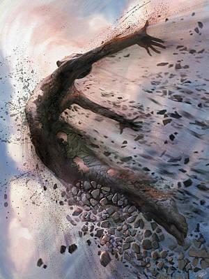 Shattered Digital Art - Breaking The Mold by Steve Goad