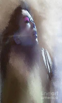 Mixed Media - Breathe by Ruth Clotworthy