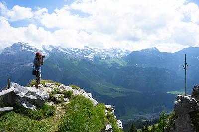 Brunni Photograph - Breathtaking Brunni Switzerland by Arylana Art