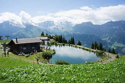 Brunni Photograph - Breathtaking Brunnin Switzerland by Arylana Art