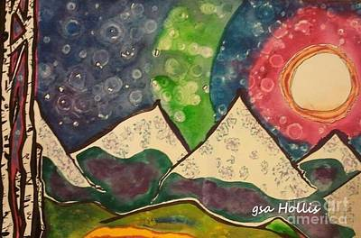 Painting - Breckenridge Colorado by Gayla Abel Hollis