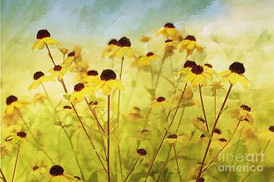 Breeze Print by Elaine Manley