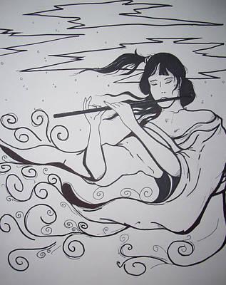 Breeze Print by Ronald Mcduff