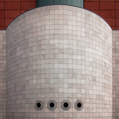 Grid Photograph - Brewery Artois by Gilbert Claes