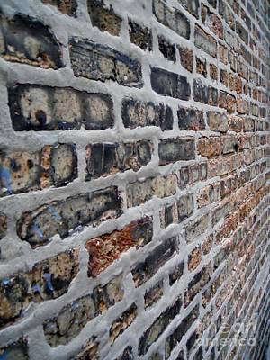 Brick Pattern-2 Print by Gene Mark