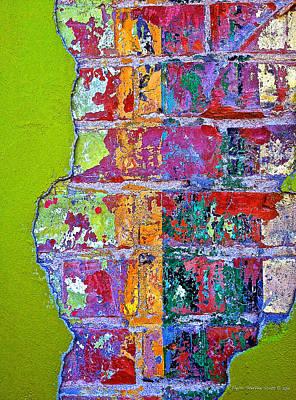 Bricks And Mortar Print by Taylor Steffen SCOTT