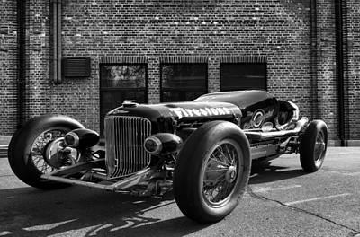 Brickyard Buick Print by Peter Chilelli