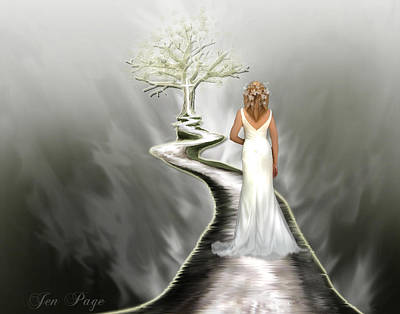 Pages Of Life Digital Art - Bride Of Christ by Jennifer Page