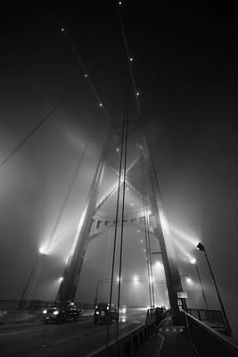 Doppelganger Photograph - Bridge Abstract by Alex Land