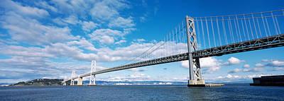 Bridge Across A Bay, Bay Bridge, San Print by Panoramic Images