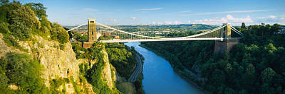 Bridge Across A River, Clifton Print by Panoramic Images