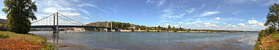 Rhone Alpes Photograph - Bridge Across A River, Tain-lhermitage by Panoramic Images