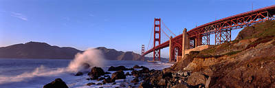 Bridge Across The Bay, San Francisco Print by Panoramic Images
