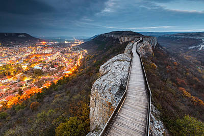 Provadiya Photograph - Bridge Between Epochs by Evgeni Dinev