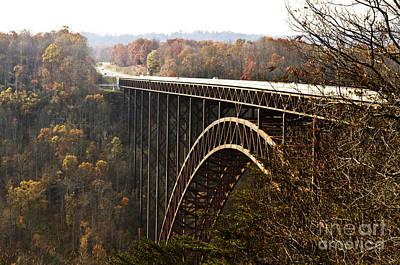 Virginia Photograph - Bridge by Blink Images