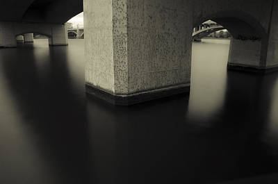 Phoenix Photograph - Bridge Contemplations by Dave Dilli