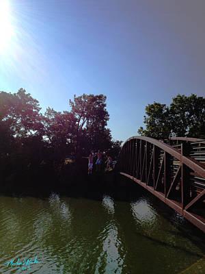 Bridge Jumpers Original by Michael Rucker