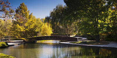 Bridge Of Loose Park Original by Chad Davis