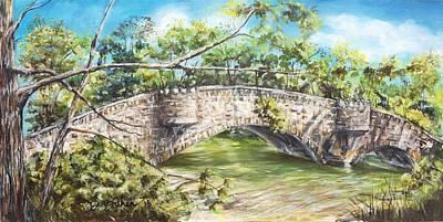 Bridge Of Sighs Print by Debbie Bathen