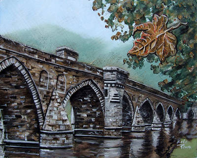 Bosnae Photograph - Bridge On River Drina by Milan Keleuva