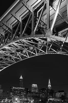 Bridge Over Cleveland  Print by Clint Buhler