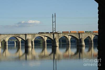 Bridge Over The Susquehanna River. Print by Rob Luzier