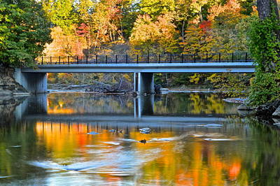 Contemplative Photograph - Bridges Of Madison County by Frozen in Time Fine Art Photography