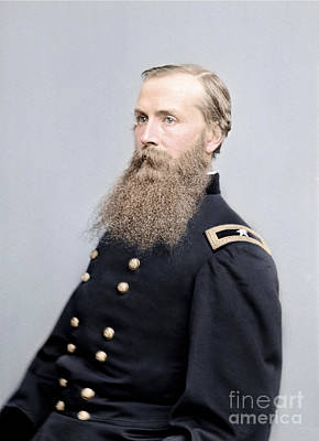 The General Lee Photograph - Brigadier General Charles K Graham by Celestial Images