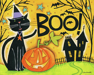 Bright Halloween II Print by Anne Tavoletti