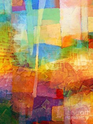 Bright Mood Print by Lutz Baar