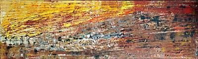 Splashy Art Painting - bright side of wildLife by Martina Niederhauser