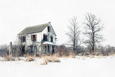 Brighter Days - The Abandoned Farmhouse Of A Serial Killer Print by Gary Heller