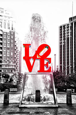 Phila Photograph - Brightest Love by Bill Cannon