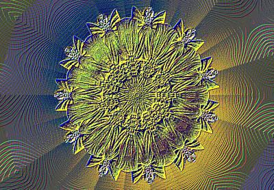 Fine Lines Digital Art - Brilliancy by Linda Phelps