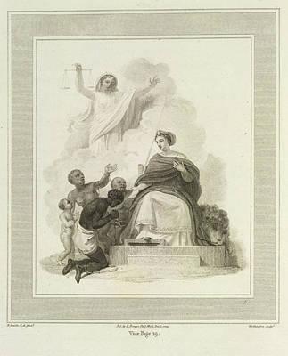 Britannia Print by British Library