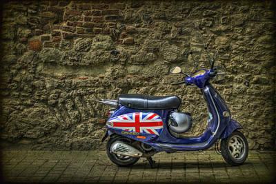 British At Heart Print by Evelina Kremsdorf